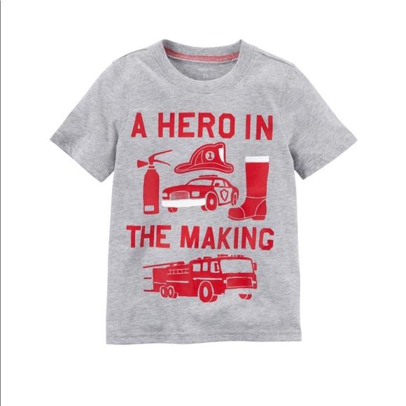 Carter S Shirts Tops Carters A Hero In The Making Tshirt Poshmark